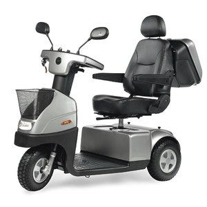 Silver - Afiscooter C3 3-Wheel Electric Scooter By Afikim | Wheelchair Liberty