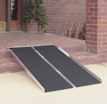 Single Fold Portable Wheelchair and Scooter Ramp 2