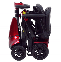 Solax Mobie Plus Electric Folding Scooter - Red Folded