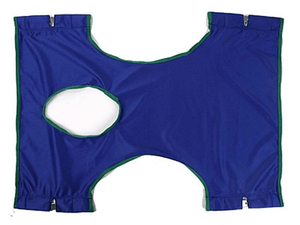 Standard Commode Patient Sling for Protekt Patient Lifts - Nylon