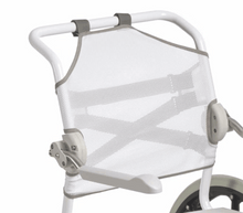 Swift Mobil 24 Inch - 2 Self-Propelled Shower Commode Chair - Back Support