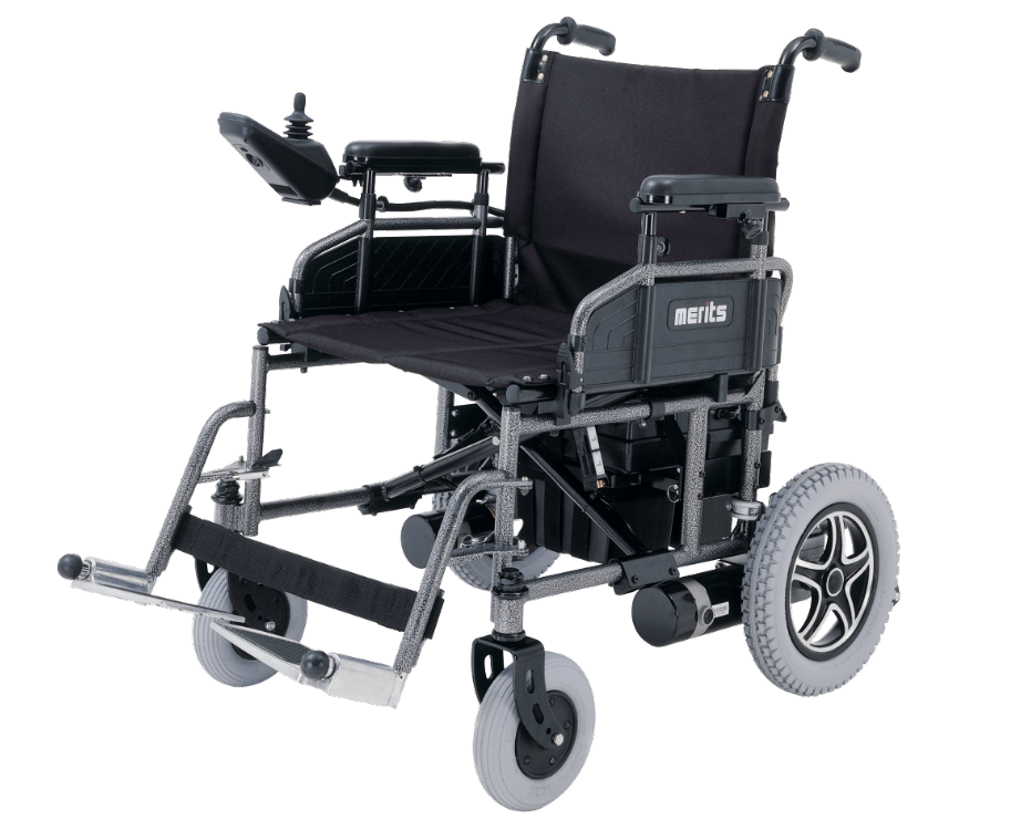 Travel Ease 16 18  and 20 Commuter Folding Power Wheelchair P101