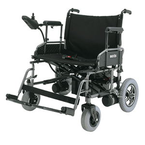 Travel Ease 22 Heavy-Duty Folding Power Wheelchair P181 - Full Chair