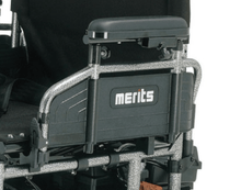 Travel Ease 26 Heavy-Duty Folding Power Wheelchair P183 - Armrest
