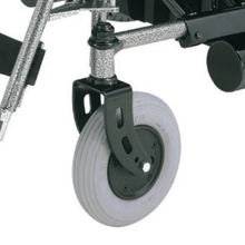 Travel Ease 26 Heavy-Duty Folding Power Wheelchair P183 - Front Wheels