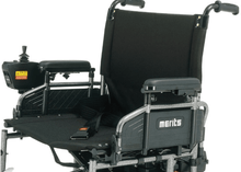 Travel Ease 26 Heavy-Duty Folding Power Wheelchair P183 - Seat With Safety BElt