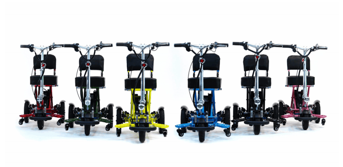 Triaxe Sport Folding Electric Scooter - Color Variant - by Enhance Mobility | Wheelchair Liberty