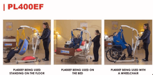 Uses - The BestLift™ PL400EF | FULL BODY ELECTRIC FOLDABLE PATIENT LIFT by Best Care LLC | Wheelchair Liberty