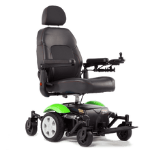 Vision Sport Mid-Wheel-Drive Power Wheelchair P326A -  Green