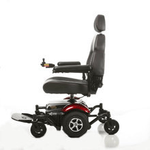 Vision Sport Mid-Wheel-Drive Power Wheelchair P326A - Left Side View