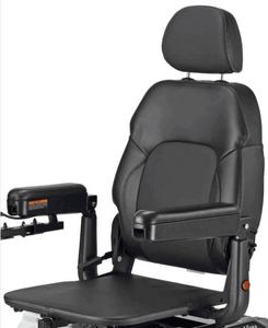 Vision Sport Mid-Wheel-Drive Power Wheelchair P326A - Pan Seat