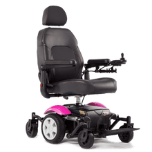 Vision Sport Mid-Wheel-Drive Power Wheelchair P326A -  Pink