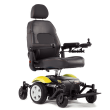 Vision Sport Mid-Wheel-Drive Power Wheelchair P326A - Yellow