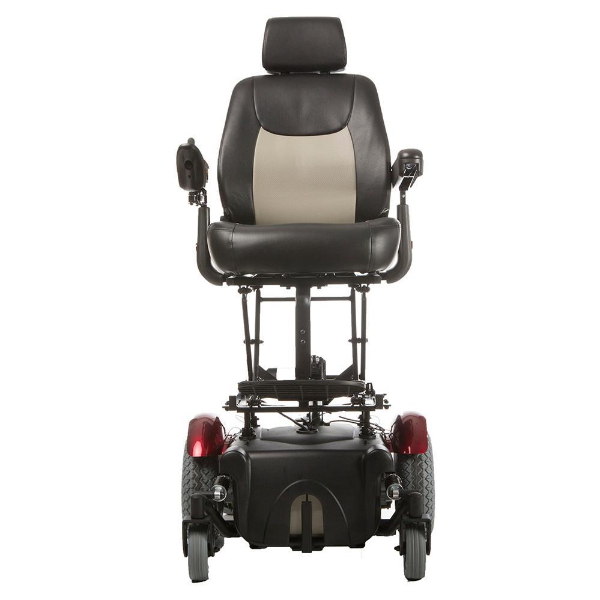 Vision Super Bariatric Power Wheelchair with Seat Lift P3274 - Front View