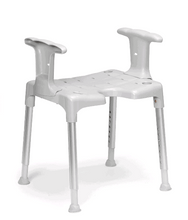 With Arm Rest - Swift Shower Stool/Chair by Etac | Wheelchair Liberty