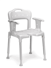 With Back Support And Arm Rest - Swift Shower Stool/Chair by Etac | Wheelchair Liberty