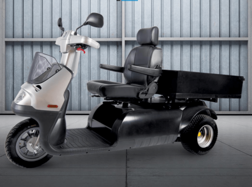With Platform Walls - Afiscooter M 3-Wheel Electric Scooter By Afikim | Wheelchair Liberty