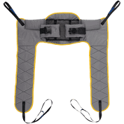 Hoyer Pro Loop Slings - One Piece Sling, U-Sling, Amputee, Commode, Bathing, Transfer, Sit to Stand by Joerns - Wheelchair Liberty