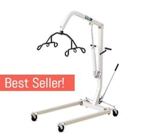 Hoyer HML400 Hydraulic Manual Patient Lift by Joerns - Wheelchair Liberty