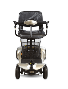 Front View - Dasher 4 4-Wheel Electric Scooter by Shoprider | Wheelchair Liberty