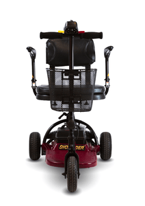 Front View - Echo 3 3-Wheel Electric Mobility Scooter by Shoprider | Wheelchair Liberty