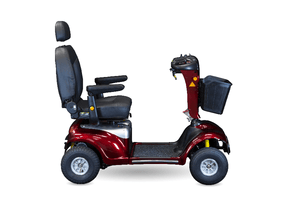 Side View - Enduro XL4 Bariatric 4-Wheel Electric Scooter by Shoprider | Wheelchair Liberty