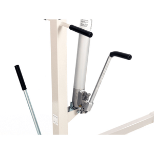 Close Up on Hydraulic Pump - Hoyer HML400 Hydraulic Manual Patient Lift by Joerns | Wheelchair Liberty