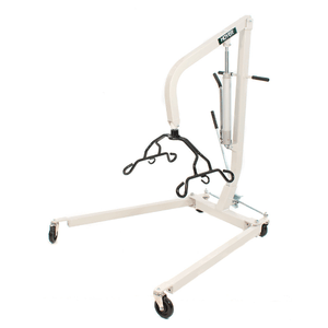 Lowered Cradle Bar - Hoyer HML400 Hydraulic Manual Patient Lift by Joerns | Wheelchair Liberty