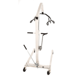 Rear View - Hoyer HML400 Hydraulic Manual Patient Lift by Joerns | Wheelchair Liberty