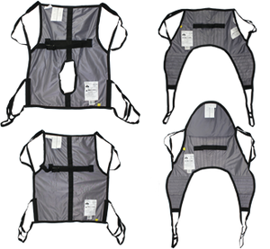 Hoyer Classic Patient Slings - One Piece Sling, U-Sling, Amputee, Comode, Bathing, Transfer, Sit to Stand by Joerns - Wheelchair Liberty