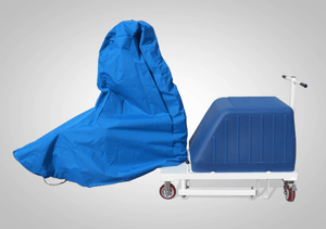 With Cover - Mighty Voyager Portable Pool Lift by Aqua Creek | Wheelchair Liberty