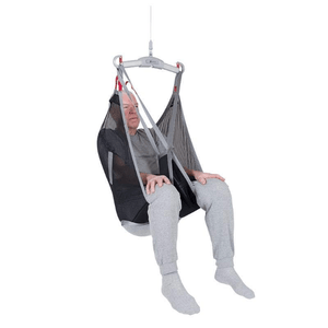 Polyester Net Front View - Universal Basic Patient Sling for Handicare Patient Lifts - Wheelchair Liberty
