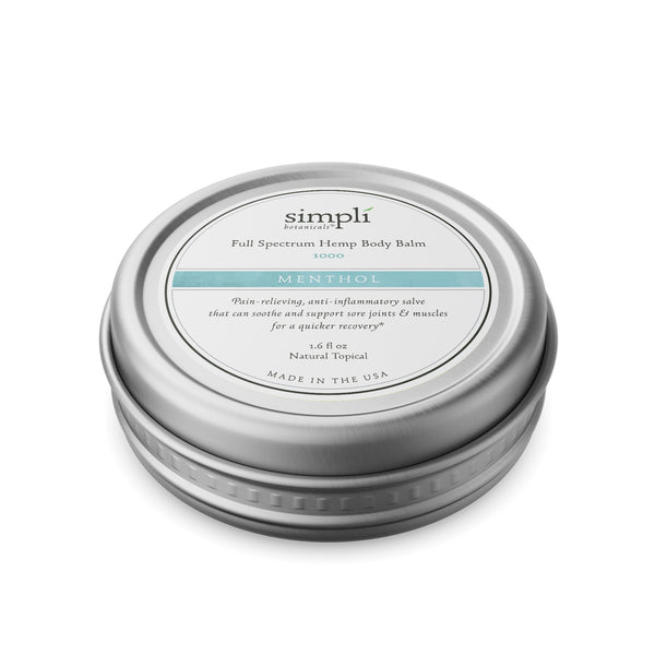 Full Spectrum Hemp Body Balm | Menthol 1000