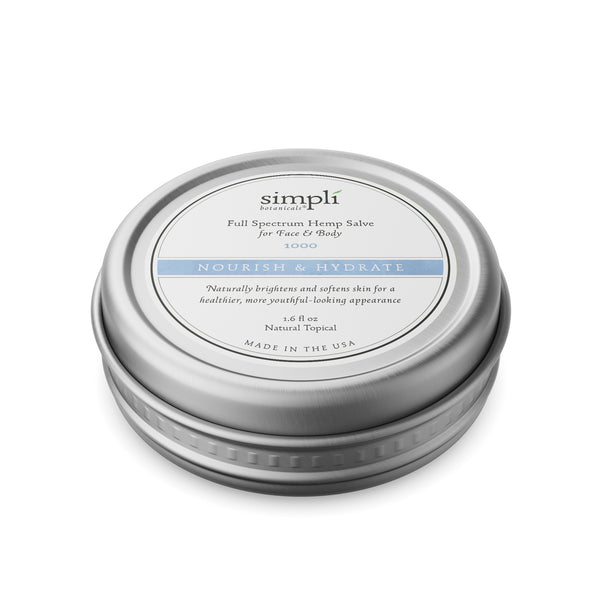 Full Spectrum Hemp Salve for Face & Body | Nourish & Hydrate 1000