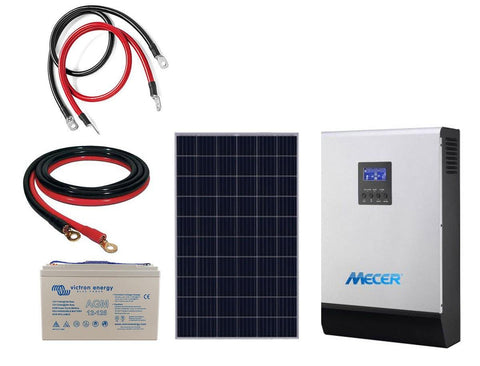 System, Solar: 5KVA, ideal for TV, Decoder, Led lights, Fridge, etc. - Solar Etc.