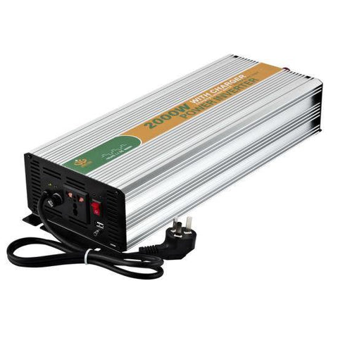 Inverter, 2000W FiveStar Modified Sine Wave 12V Off-Grid - Solar Etc.
