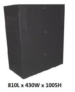 Battery Cabinet for 12 x 100Ah Batteries