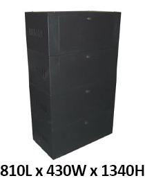 Battery Cabinet for 16 x 100Ah Batteries - Solar Etc.