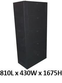 Battery Cabinet for 20 x 100Ah Batteries - Solar Etc.