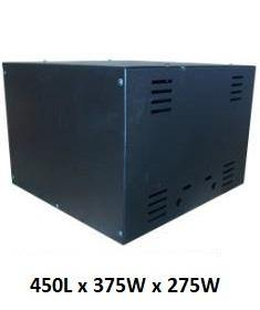 Battery Cabinet for 2 x 100Ah Batteries - Solar Etc.
