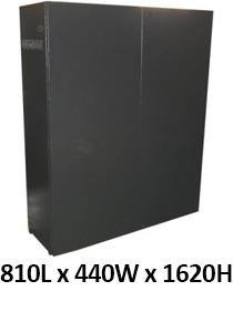 Battery Cabinet for 35 x 100Ah Batteries - Solar Etc.