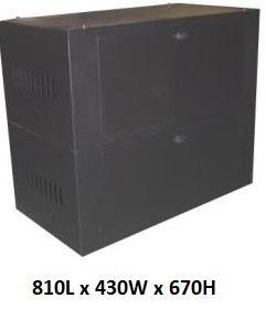 Battery Cabinet for 8 x 100Ah Batteries - Solar Etc.
