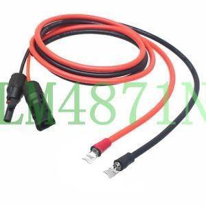 Cable: MC4 with Ferrule Pre terminated DC cable