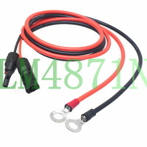 Cable: MC4 to 10mm Lug Pre terminated DC cable - Solar Etc.