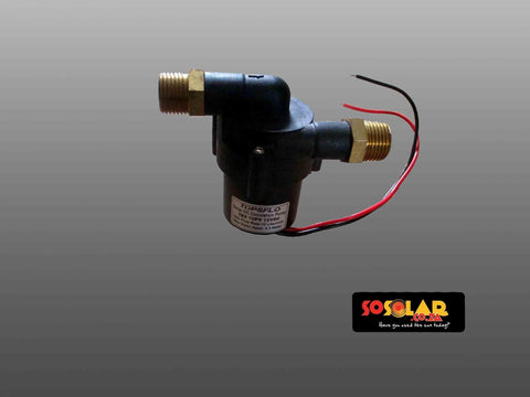 Solar Geyser: Solar DC circulation pump