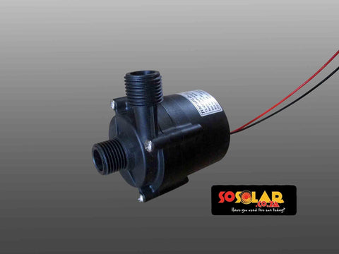 Solar Geyser: Solar DC circulation pump (Bushless pump) - Solar Etc.