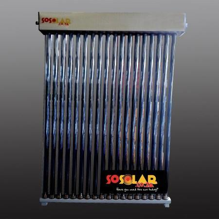 Solar Geyser: Water Collectors (Low Pressure) 30 Tube - Solar Etc.