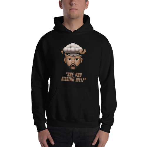 ARE YOU KIDDING ME!? Cartoon Hooded Sweatshirt