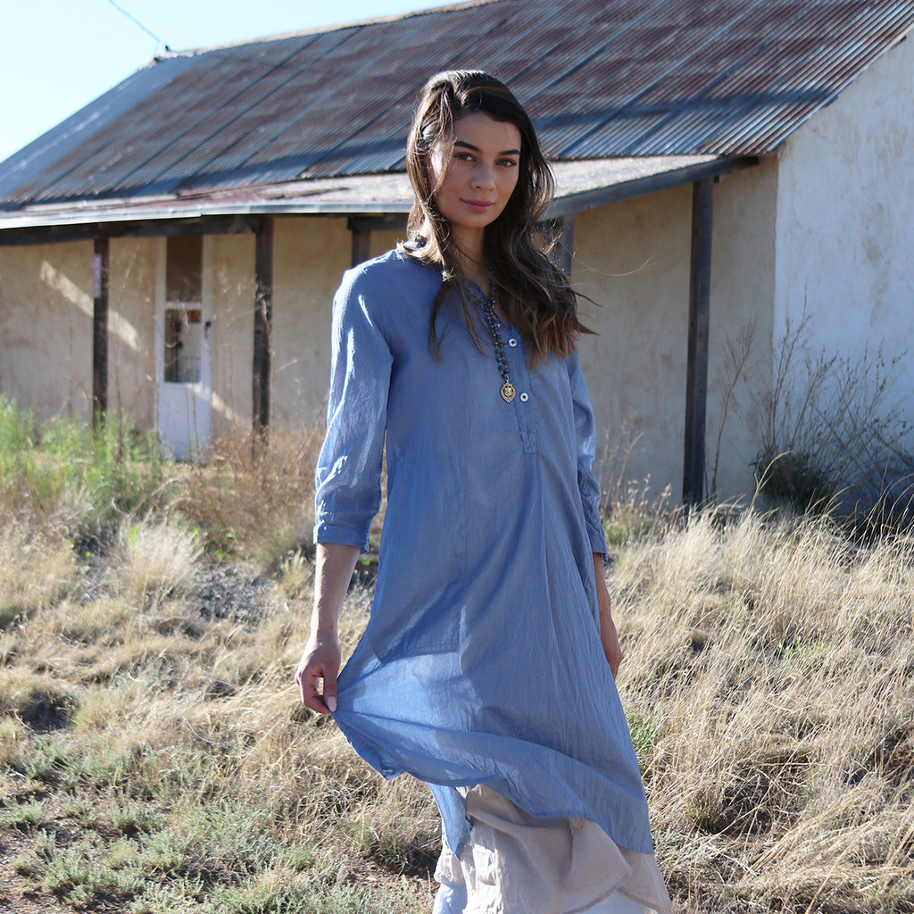 WAYFARER SHIRT DRESS