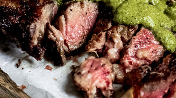 Steak with Chimichurri Sauce